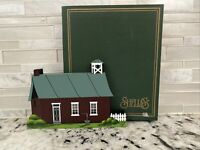 RARE Shelia's Collectibles AMISH SCHOOLHOUSE Lancaster Pennsylvania