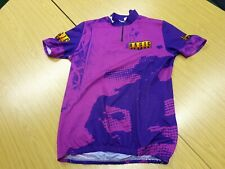 Bonin Basic Clothes XXL Mens Black Purple Magenta Cycle Jersey