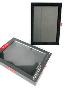TUMI Rotating Folio Case Apple iPad Mini 4 LEATHER Black NEW NOB Free Shipping!