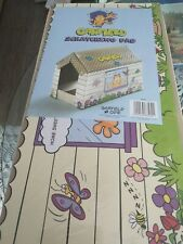Garfield Cat House With Scratching Pad Inside. Includes Catnip!! Cats Love It