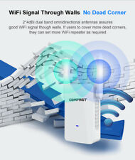 Comfast AC1200 Dual Band 2.4/5.8G Wireless Repeater,Wifi Signal Booster Extender