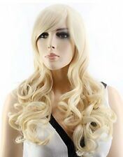 Blonde Wig Long Wavy Curly beautiful Wig. Daily or cosplay. 22-24 inches. Nice