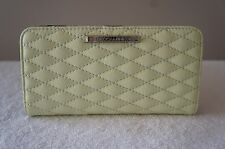 AUTH Rebecca Minkoff Purse Quilted LEATHER Sophie Snap SLIM WALLET Bag