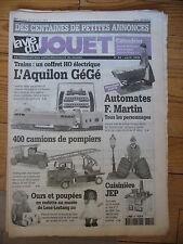 LA VIE DU JOUET N°43 1999  AUTOCARS FRANCAIS TRAIN KARL BUB BARBIES 1960