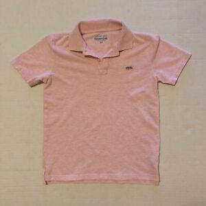 J. Crew CrewCuts Boys Pink Polo Shirt Size 10