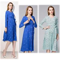 Waist Belt Dress Nursing Breastfeeding Prenancy Maternity Slim 6 8 10 12 14