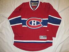 Montreal Canadiens Reebok Premier red hockey jersey Men M