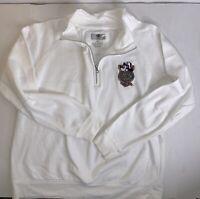 Disney Cruise Line Womans Sweatshirt Zip Front Cruise Logo White Size XL