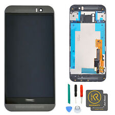 OEM Gray LCD Display + Touch Screen Digitizer + Frame Assembly for HTC One M9 US