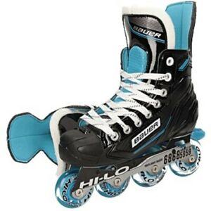 Bauer RSX Inline Hockey Skates Junior R Bauer-Skate-Größe Skate-Weite
