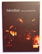 DVD MUSIQUE CONCERT / BENABAR LIVE AU GRAND REX ENREGISTRE EN 2004