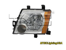 TYC NSF Certified Left Side Halogen Headlight Lamp for Nissan Xterra 2005-2015