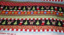 """Christmas Fabric  by Kimberly Montgomery for MBT 2.25 yds x 44""""wide"""