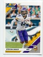 2019 Donruss #157 STEFON DIGGS Minnesota Vikings BASE FOOTBALL CARD Panini