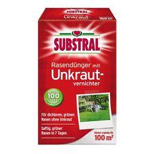 Substral Rasen-Dünger mit Unkrautvernichter - 2 kg - Rasendünger Kombidünger
