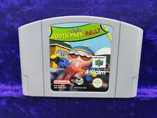 N64 **SOUTH PARK RALLY Genuine Nintendo Game Cart PAL