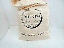 ZENLUSSO Bed Sheet Set Luxury 100% Bamboo Sheets - Hypoallergenic Deep Pocket...