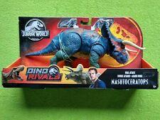 "Jurassic World Dino Rivals Nasutoceratops ""30cm"" - Mattel 2019 NEW Sealed"