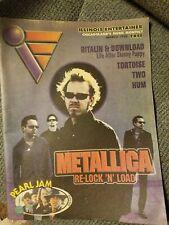 Metallica pearl jam Skinny Puppy tortoise Rob Halford illinois entertainer Zine