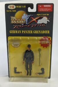 Ultimate Soldier 2000 1:18 German Panzer Grenadier WWII Action Figure