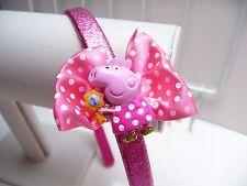 Peppa Pig glitter Aliceband