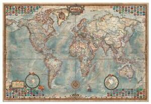 Educa Historic World Map Jigsaw Puzzle (4000 Pieces)