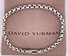 David Yurman Medium Box Chain Bracelet 5mm/ 8.5""