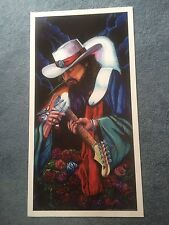 100 Lot Package TOP SELLER Stevie Ray LTD. Fine Art Prints by Bill Foss