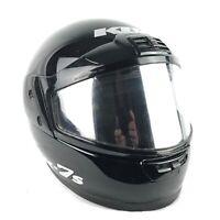 KBC Full Face Snowmobile Helmet XL Snell M95 Approved DOT Black