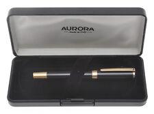 Aurora TU T11 CPN black and rose gold fountain pen mint in box