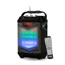 Acoustic Audio TG65GS Portable Bluetooth Speaker with LED Display & Rechargeable