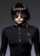 Deluxe Dark Brown Lara Croft Style Wig