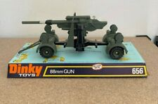 Vintage  Dinky Toys  656 WWII German 88mm Flak Gun Mint in original packing