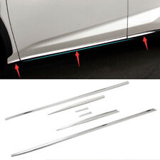 fits Lexus NX200t NX300 NX300h Stainless Steel Body Side Door Molding Cover Trim