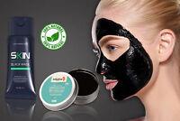 Charcoal Kit Blackhead Remover Black Peel Mask & Natural Teeth Whitening Powder