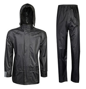 Adults Waterproof Long Coat, Over Trousers and Jackets. Plus / big Size 3XL-5XL