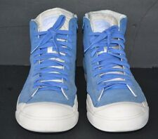 NIKE HIGH EXCLUSIVE US MEN 12.5 PRE-OWNED ROYAL  SUEDE