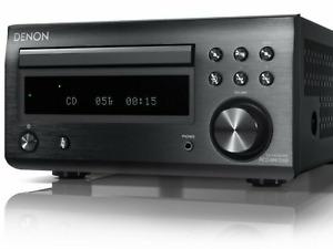 Denon RCD-M41DAB CD Receiver Bluetooth 2 x 30 Watt Schwarz NEU OVP