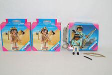 PLAYMOBIL speciale 4651 Cleopatra (nuovo) 4527 guerrieri egiziani 3 personaggi