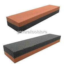 "COMBINATION SHARPENING STONE SILICON CARBIDE DOUBLE SIDED 8"" X 2"" X 1"""