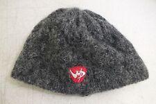 Bula Winter Park Resorts Gray Wool Hat w/Polartec Fleece Ear Band Size M/L LOOK