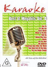 KARAOKE + DVD + Best of Megahits (4) + Texte auf Bildschirm + Partyspaß +