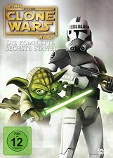 STAR WARS CLONE WARS : THE LOST MISSIONS SEASON 6 -  DVD - PAL Region 2 - New