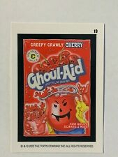 2020 Wacky Packages All New Weekly Series May - Ghoul-Aid (#13) Red Ludlow