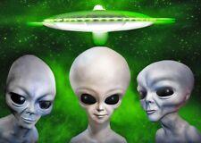 Aliens - 3D Lenticular Postcard Greeting Card