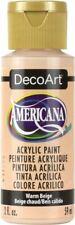 6 Pack-Americana Acrylic Paint 2oz-Warm Beige -Da-078