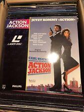 Action Jackson Laserdisc LD deutsch