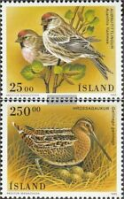 Iceland 833-834 (complete issue) fine used / cancelled 1995 Birds