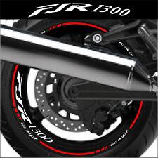 LISERETS JANTES MOTO FJR 1300 STICKERS kit pour 2 jantes 40 couleurs