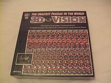 New 3D Vision 500 Piece Jigsaw Puzzle.The Craziest Puzzles in the World 1994